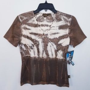 Kuhl Tie Dye Crossover Top - Size S - NWT
